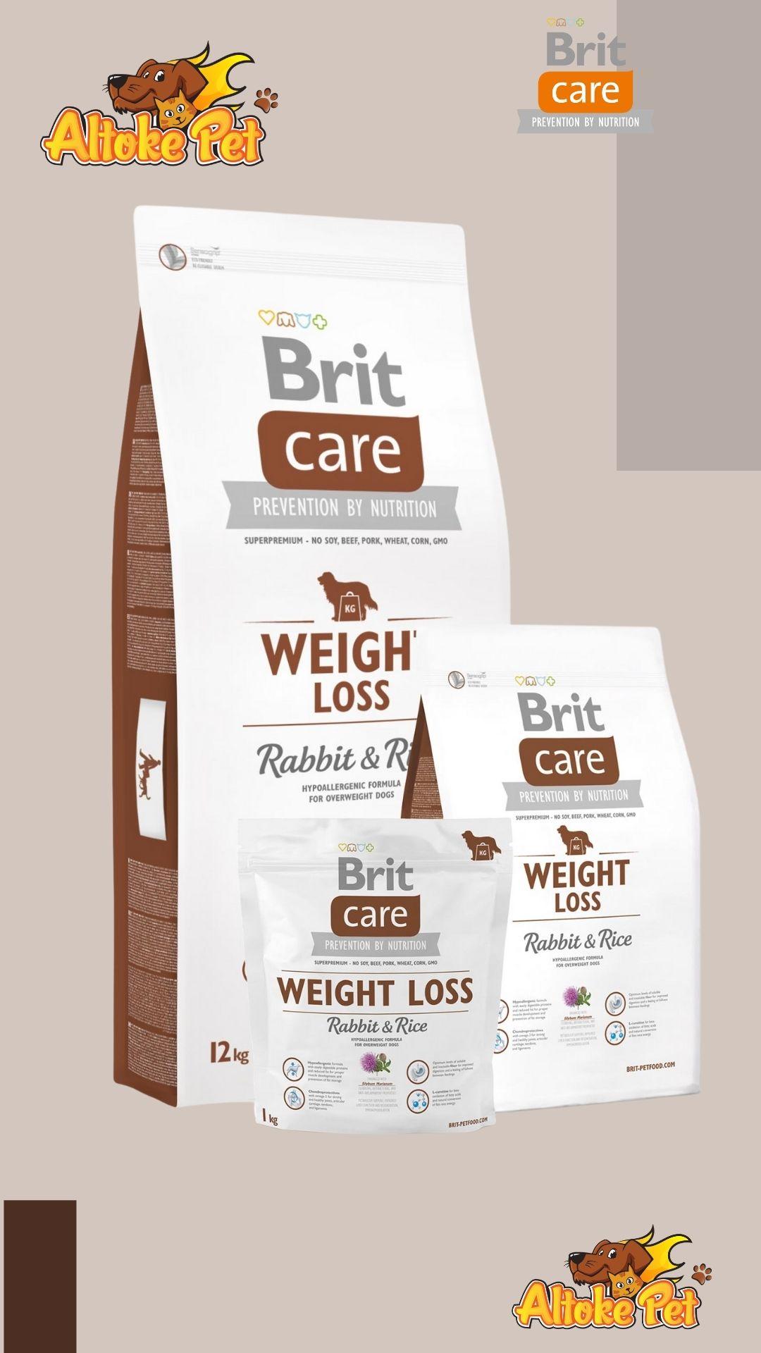 Altoke Pet - Brit Care Conejo Control Peso